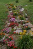 Beautiful rock garden landscaping ideas 38