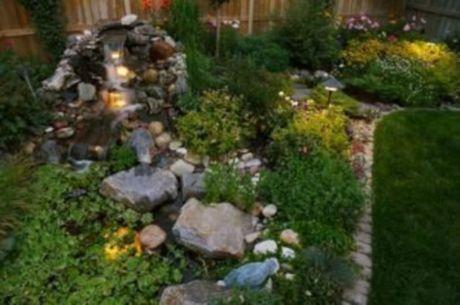 Beautiful rock garden landscaping ideas 44