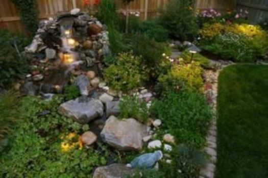 Beautiful rock garden landscaping ideas 44