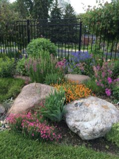 Beautiful rock garden landscaping ideas 49