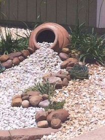 Beautiful rock garden landscaping ideas 50