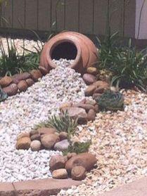 Beautiful rock garden landscaping ideas 50