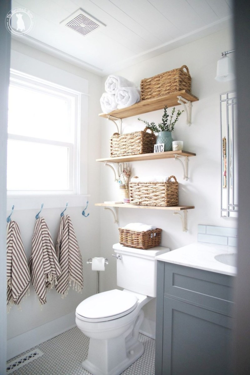 Cool attic bathroom remodel ideas 04