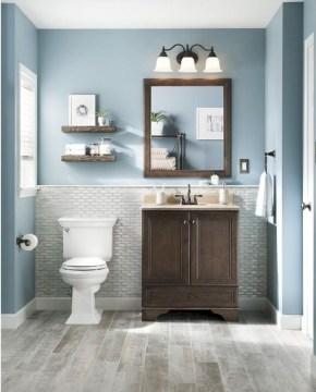 Cool attic bathroom remodel ideas 25