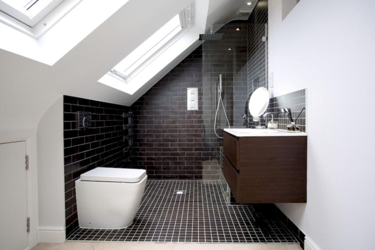 Cool attic bathroom remodel ideas 28