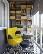 Cozy small balcony design decoration ideas 19