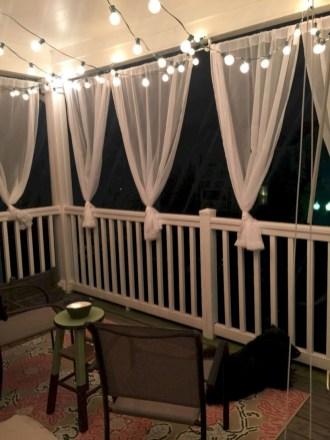 Cozy small balcony design decoration ideas 30