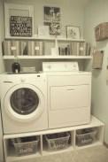 Creative small laundry room organization ideas 09