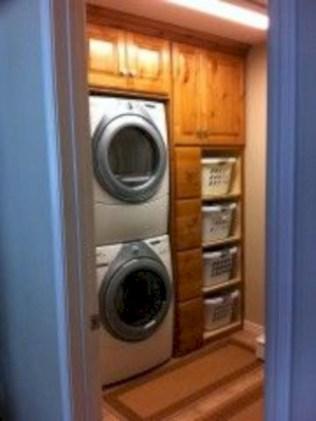 Creative small laundry room organization ideas 18