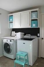 Creative small laundry room organization ideas 27