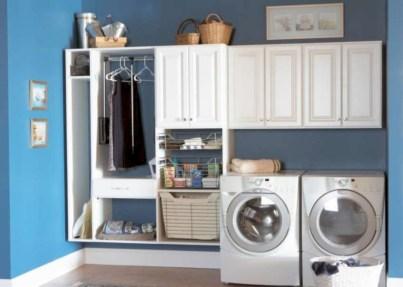 Creative small laundry room organization ideas 31