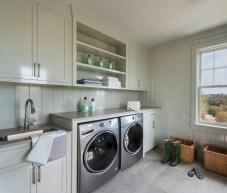 Creative small laundry room organization ideas 35