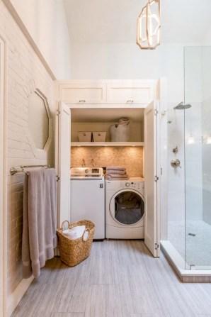 Creative small laundry room organization ideas 37