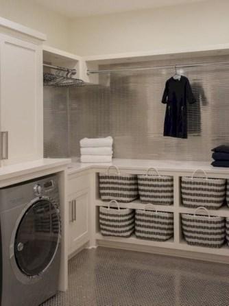 Creative small laundry room organization ideas 38