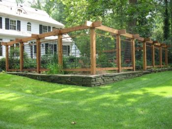 Easy and cheap backyard privacy fence design ideas 04