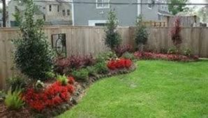 Easy and cheap backyard privacy fence design ideas 38