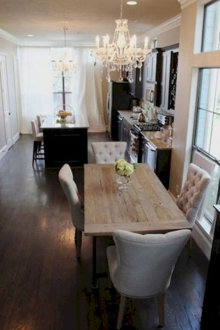 Genius small dining room table design ideas 13