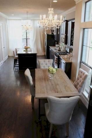 Genius small dining room table design ideas 13