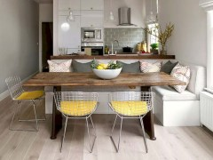 Genius small dining room table design ideas 17