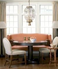 Genius small dining room table design ideas 24