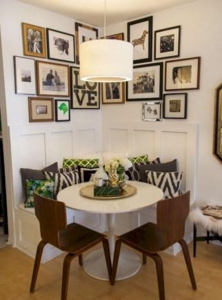 Genius small dining room table design ideas 29