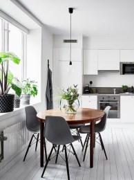 Genius small dining room table design ideas 35