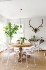 Genius small dining room table design ideas 46