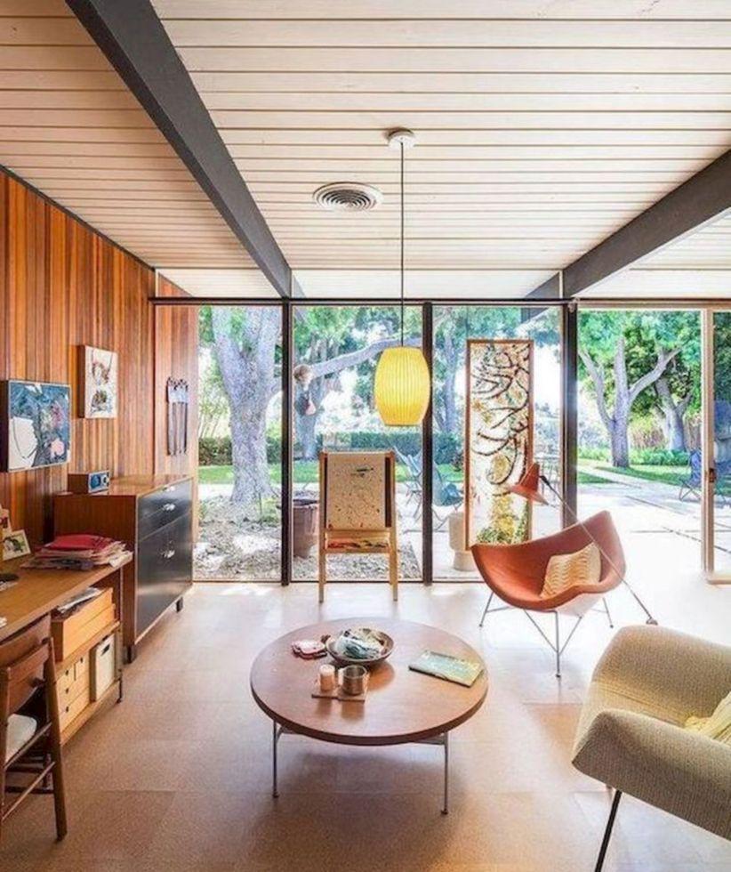 Mid century modern living room furniture ideas 10