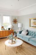 Mid century modern living room furniture ideas 16
