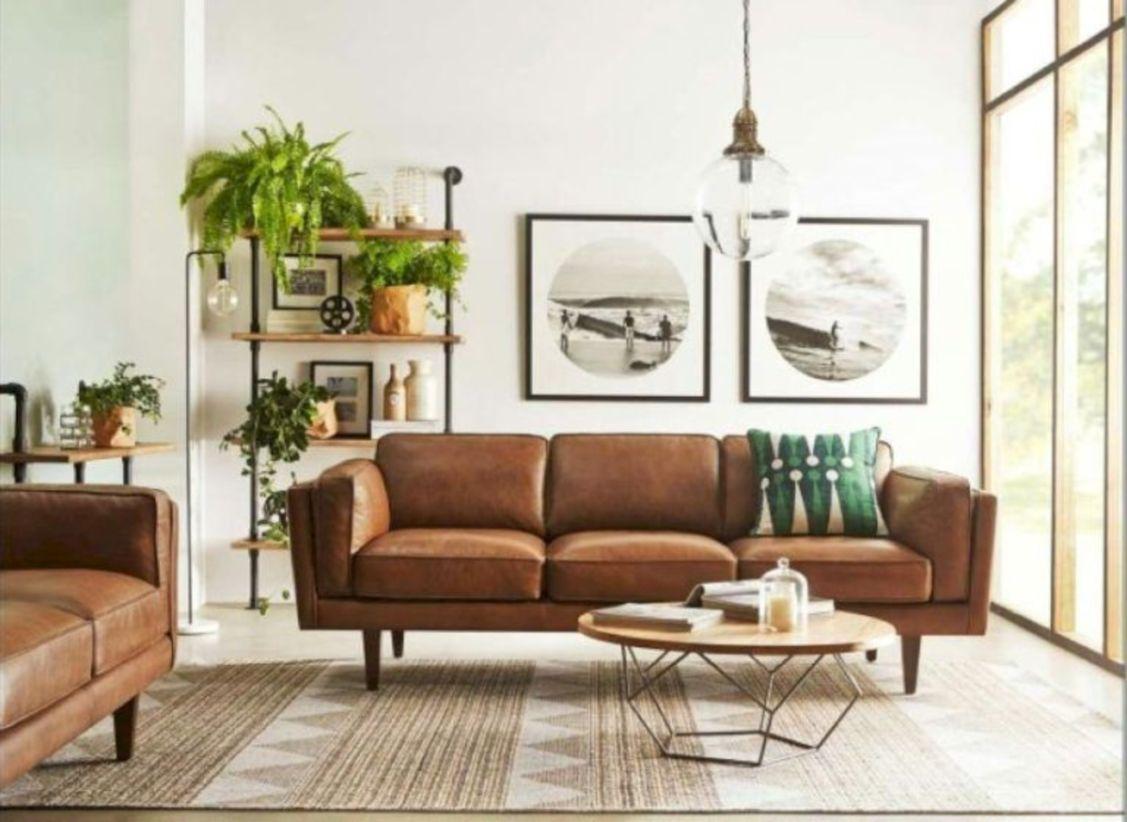 Mid century modern living room furniture ideas 19