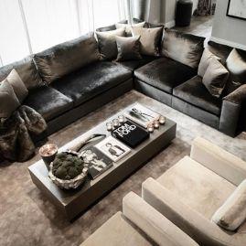 Mid century modern living room furniture ideas 22