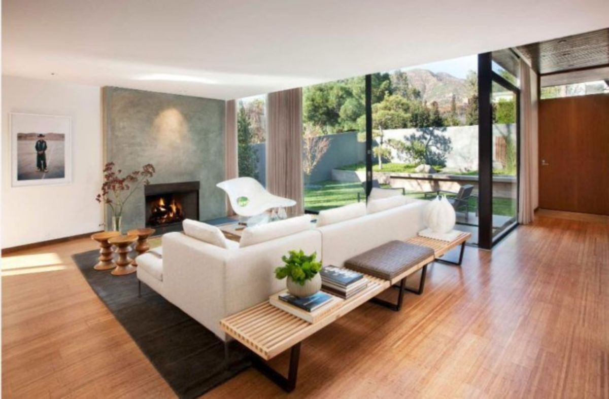 Mid century modern living room furniture ideas 35