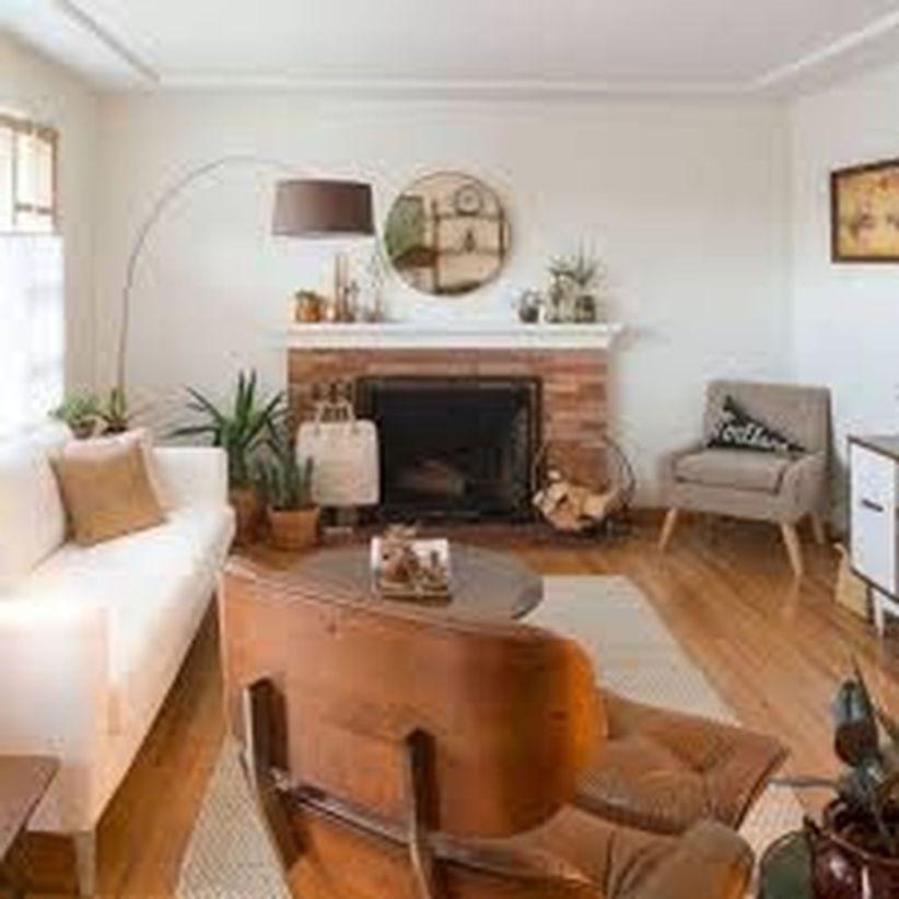 Mid century modern living room furniture ideas 38
