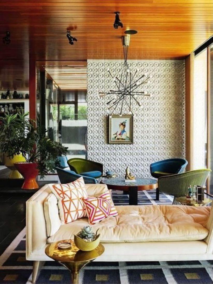 Mid century modern living room furniture ideas 40