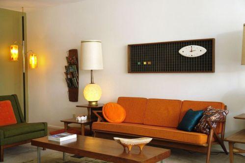 Mid century modern living room furniture ideas 41