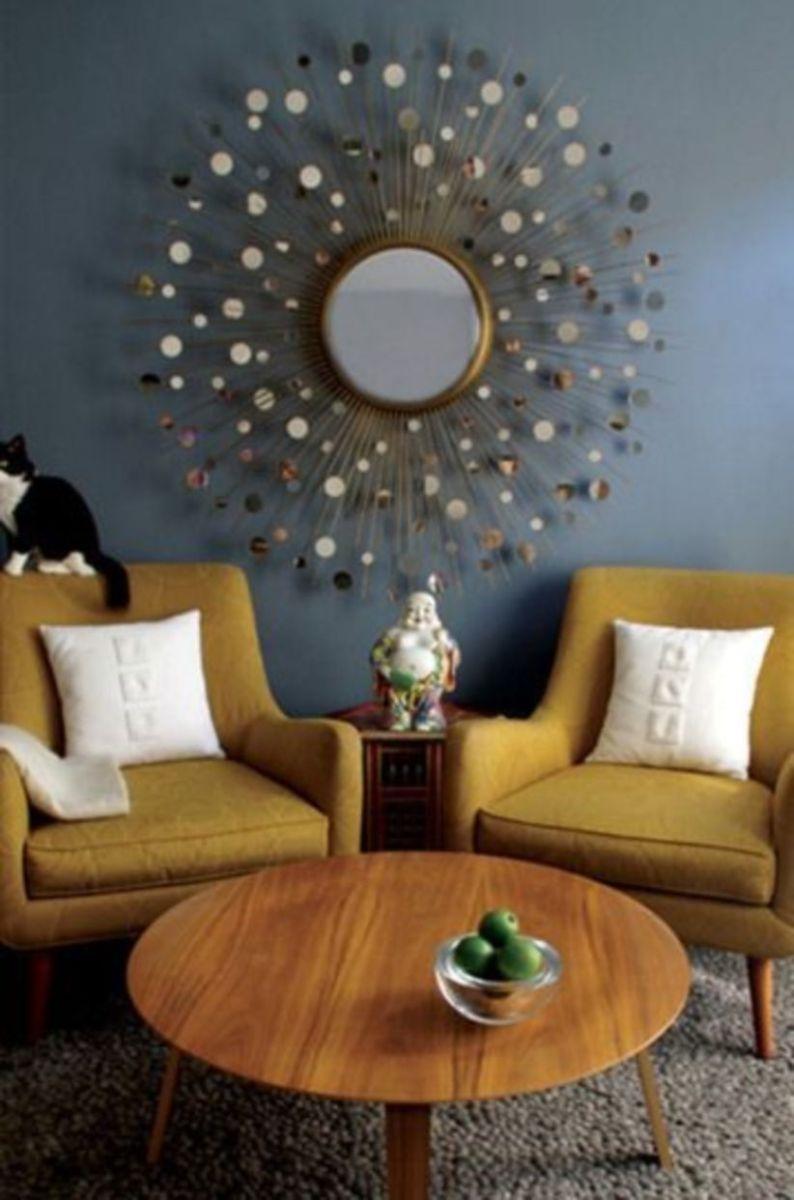 Mid century modern living room furniture ideas 48