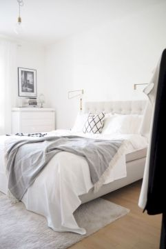 Modern scandinavian bedroom designs ideas 34