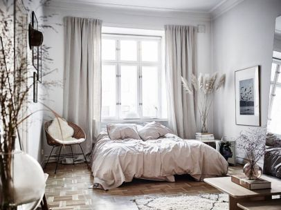 Modern scandinavian bedroom designs ideas 36