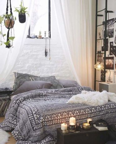 Modern scandinavian bedroom designs ideas 41