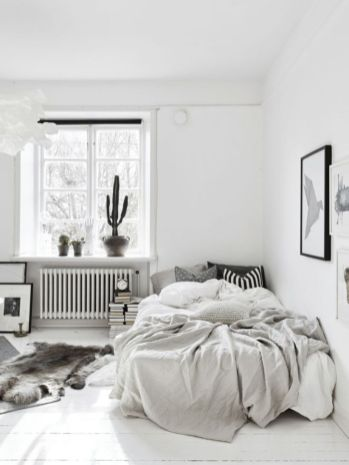 Modern scandinavian bedroom designs ideas 42