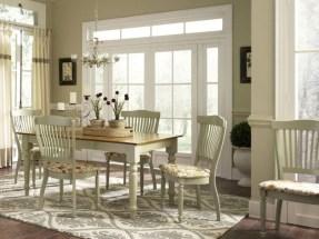 Rustic farmhouse dining room table decor ideas 02