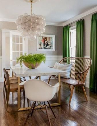 Rustic farmhouse dining room table decor ideas 43