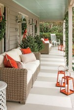 Rustic farmhouse porch steps decor ideas 12
