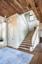 Rustic farmhouse porch steps decor ideas 34