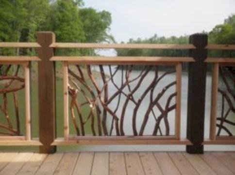 Rustic farmhouse porch steps decor ideas 44