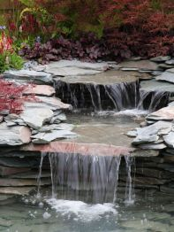 Small backyard waterfall design ideas 17
