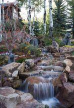 Small backyard waterfall design ideas 25
