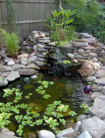 Small backyard waterfall design ideas 43