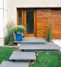 Stunning front yard entrance path walkway landscaping ideas 11