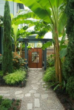 Stunning front yard entrance path walkway landscaping ideas 18